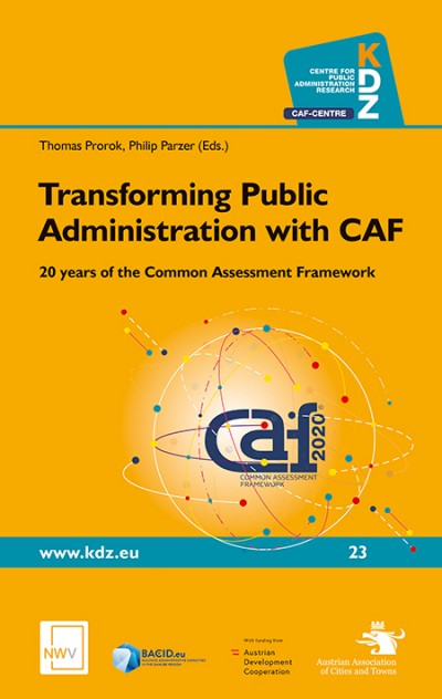 Publication - Transforming Public Administration with CAF - 20 years of the Common Assessment Framework