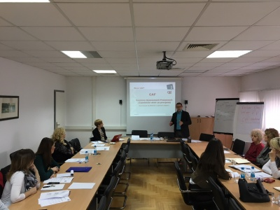 Mentoring on CAF to the Civil Service Agency of the Republic of Srpska